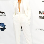 Rihanna white suit 150x150