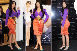 If Kim Kardashian Can't Color Block, Who Can?
