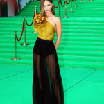 Rosie Huntington Whiteley Gucci Gown Transformers 3 150x150