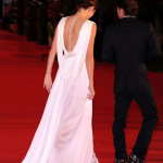 Nikki Reed white dress Breaking Dawn Premiere in Rome 150x150