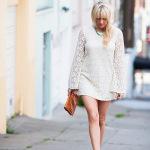 Dale Steliga Savvy Spice fashion blog long sleeve lace HM dress 34.95 nude heels Stella Dot necklace 150x150