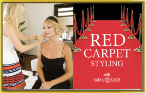 Styling Models in a New Collection of Red Carpet Couture Now in the USA