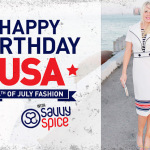 Savvy Spice 4th of July fashion Dale Janee Steliga fashion tips for men and women celebrity style for less 150x150