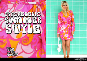 That 70's Style! Psychedelic Patterns & Snake Cuffs Invade San Fran