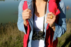 California Birdwatching ~ How to Pull off a Puffy Vest