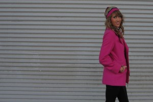 Fuschia Friday! It's Your Carrie Bradshaw Moment
