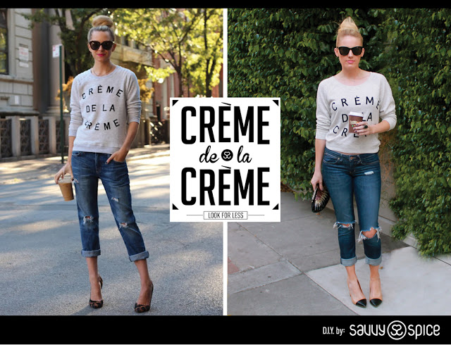 Savvy Spice fashion blog, Dale Janee Steliga, street style, Creme de la Creme look for less. Atlantic Pacific fashion blog,