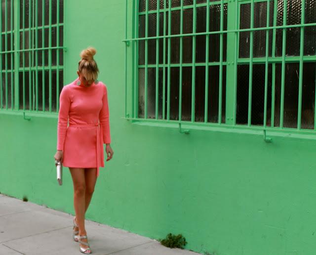 Dale Steliga Savvy Spice fashion blog silver Versace heels for HandM