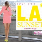 Vintage & Neon! LA Sunset Double Feature