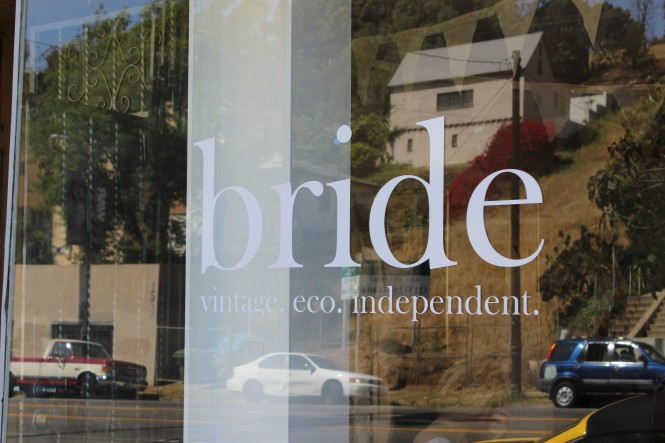 Savvy Spice, Bride boutique in Echo Park LA, San Francisco, Dale Janee Steliga, Street Style, LA bridal shops, Vintage bridal dresses, Savvy Spice fashion blog, Dale Janee, international fashion blogger, Swiss fashion blogger, Refinery 29 bridal, how to alter a vintage dress