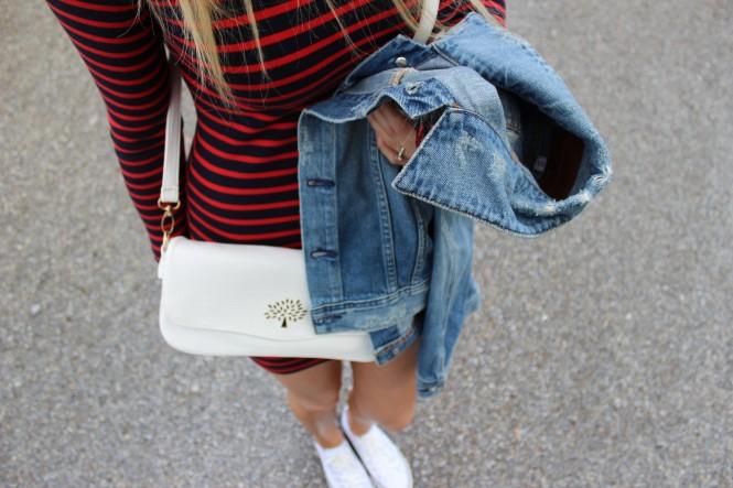 Savvy Spice fashion blog, Dale Janee Steliga, how to wear stripes