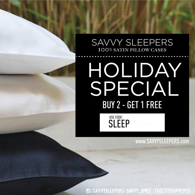 Savvy Sleepers Cyber Monday ad, Dale Janee, Savvy Spice