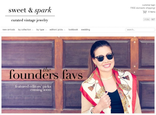 Meet Jillian - Founder of Sweet & Spark Curated Vintage jewelry