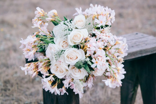 Lily + Mint has a flower garden on their 5 acre ranch and offer floral services too!