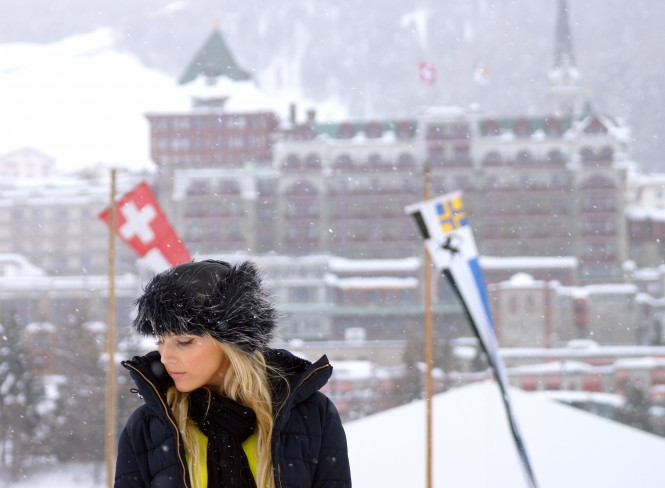 Street Style On Ice In St Moritz Savvy Spice