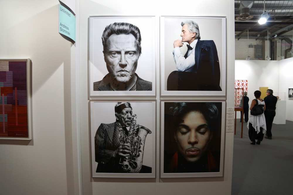 Art Basel fashion blogger Dale Janee Christopher Walken