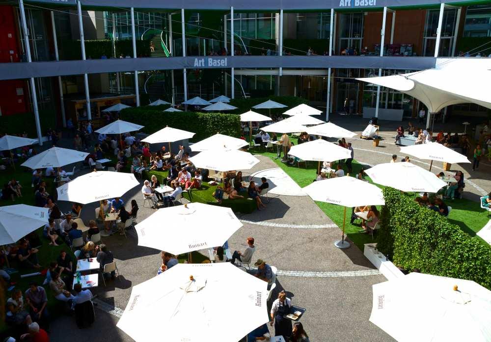 Art Basel food court
