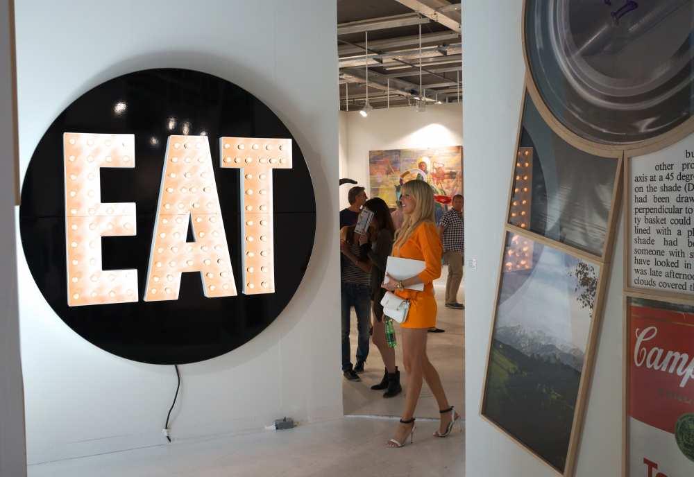Eat Art Art Basel Savvy Spice