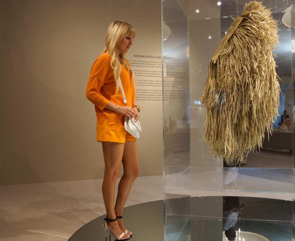 Savvy Spice Ruinart art Art Basel fashion blogger
