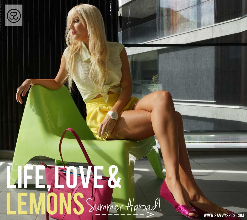 Savvy Spice fashion blog When Life Gives You Lemons