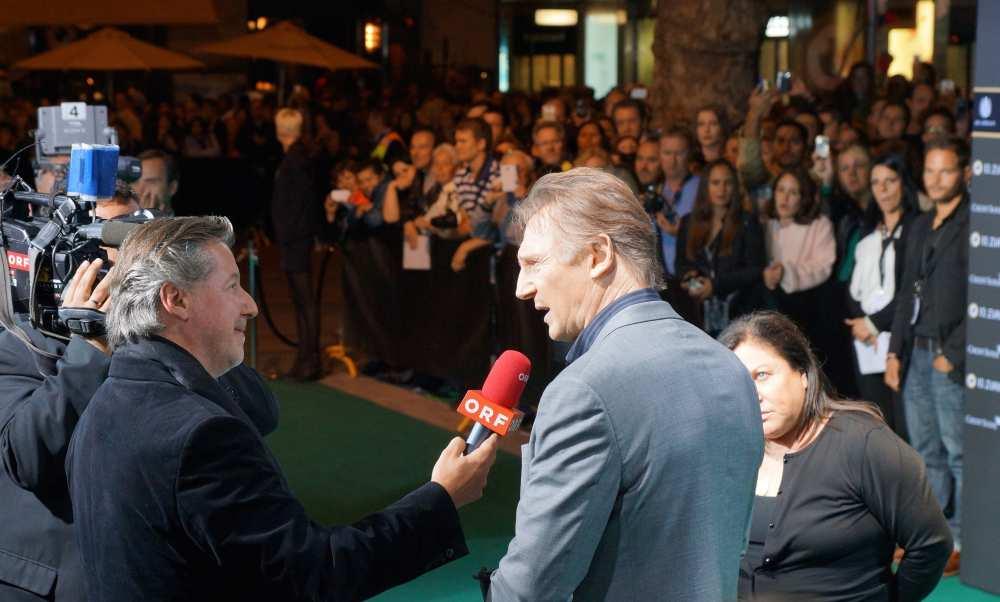 Green Carpet Savvy Spice Zurich FilmFest Liam Neeson