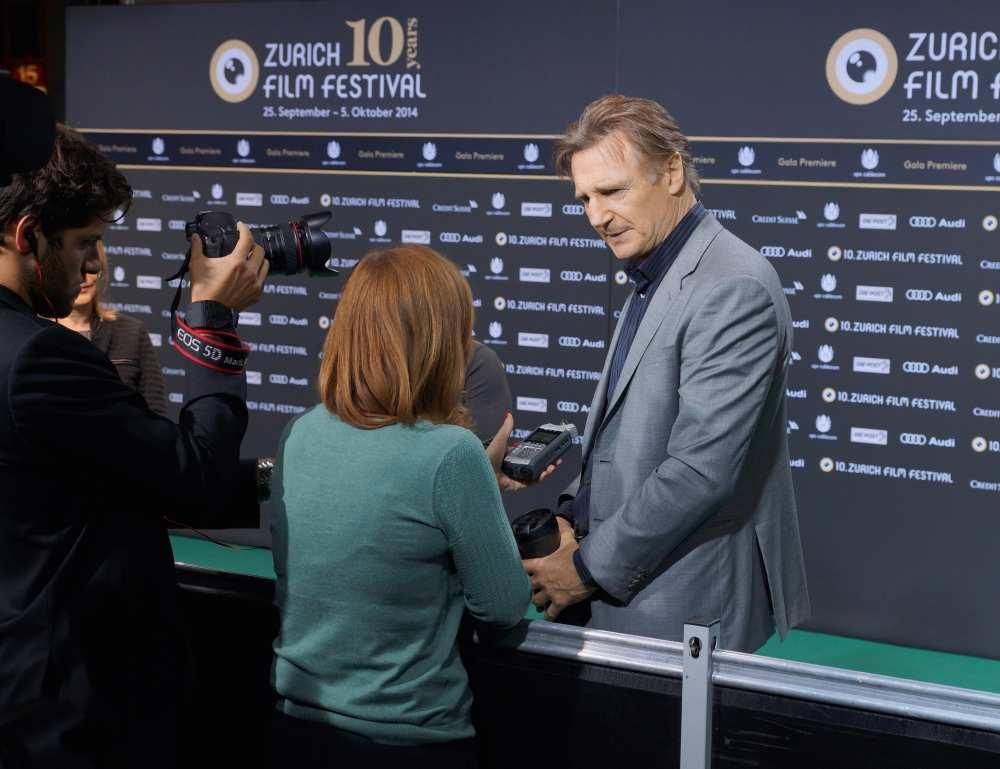 Liam Neeson Savvy Spice Fashion Blog Dale Janee Zurich Film Festival