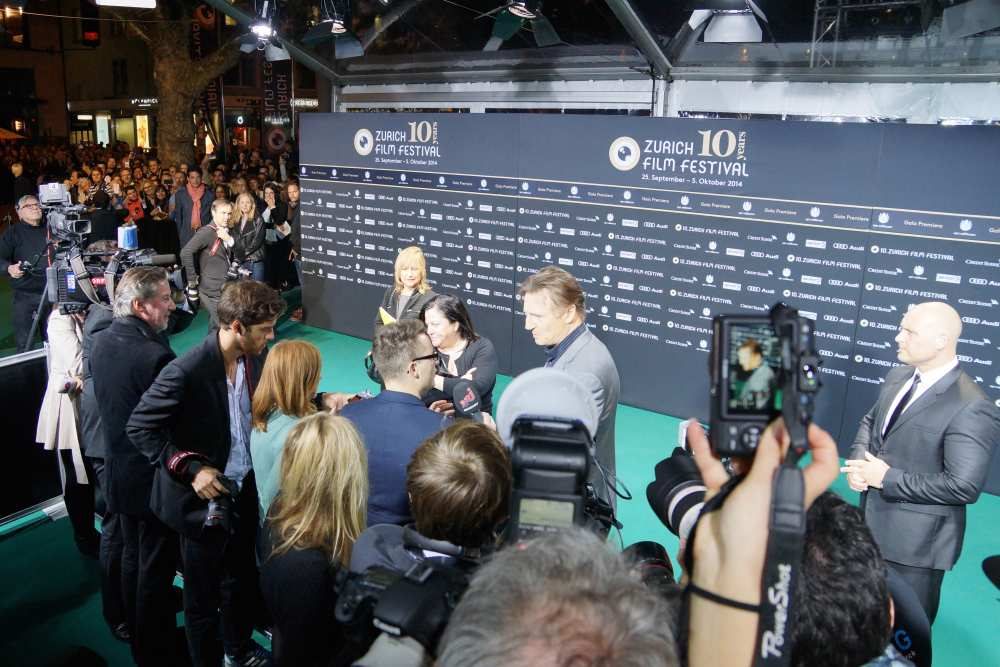 Savvy Spice fashion blog Liam Neeson Zurich Film Fest
