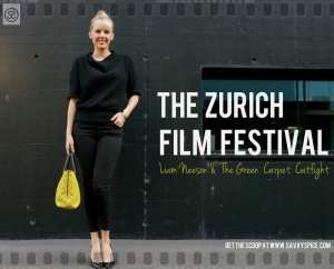 Green Carpet CatFight at the Zurich Film Festival