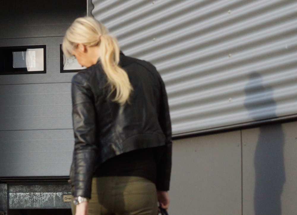 Savvy Spice Zara black leather jacket
