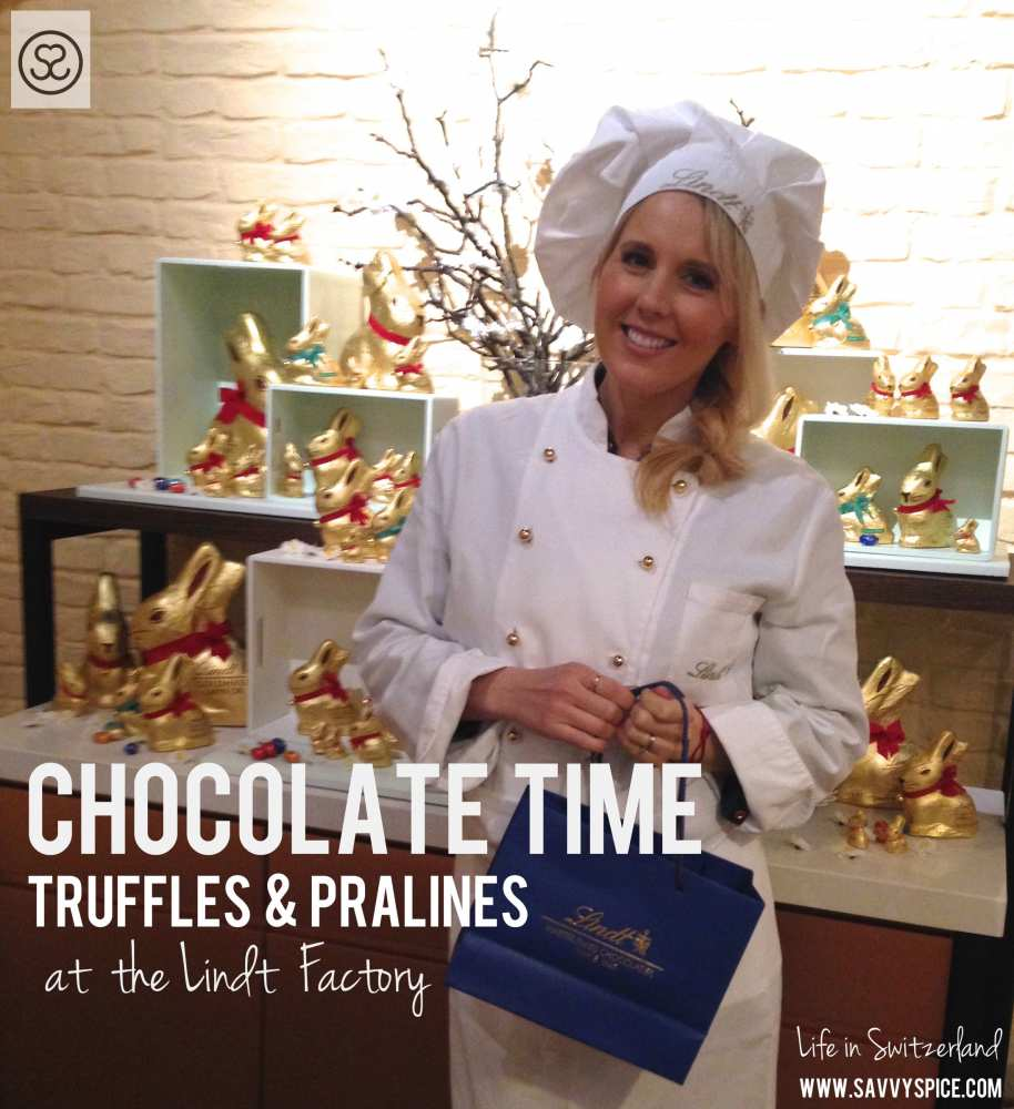 Savvy Spice truffles Pralines Lindt Factory
