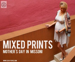 Mixing Prints in Missoni