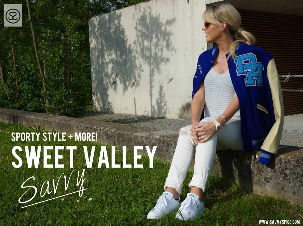 Sweet Valley High Letterman Varsity Jacket