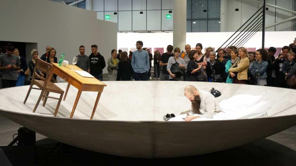 Art Basel Unlimited gallery