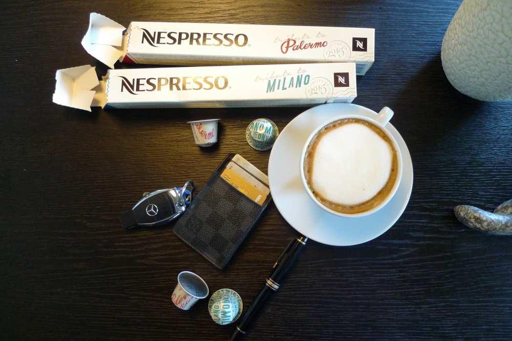 Nespresso new Milano Palermo