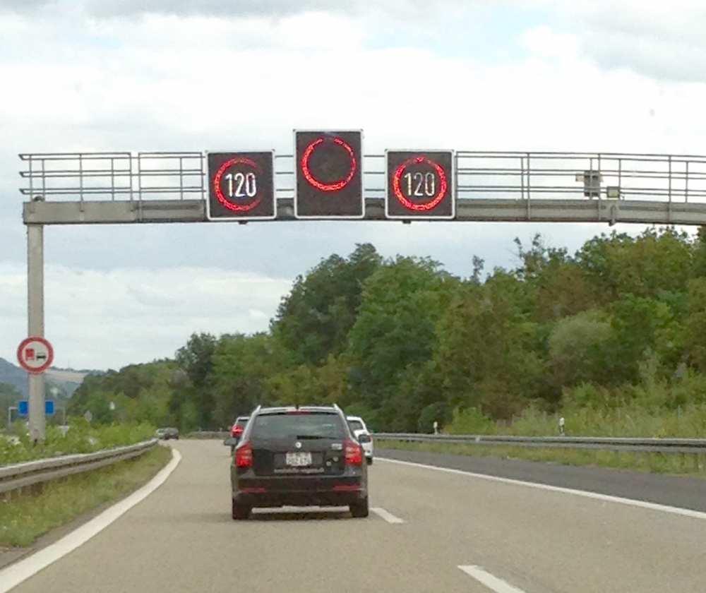 Speed limit Germany