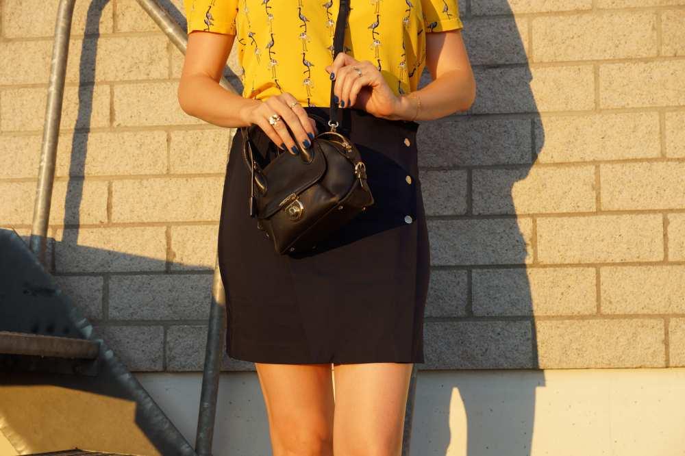 Zara-navy-blue-skirt