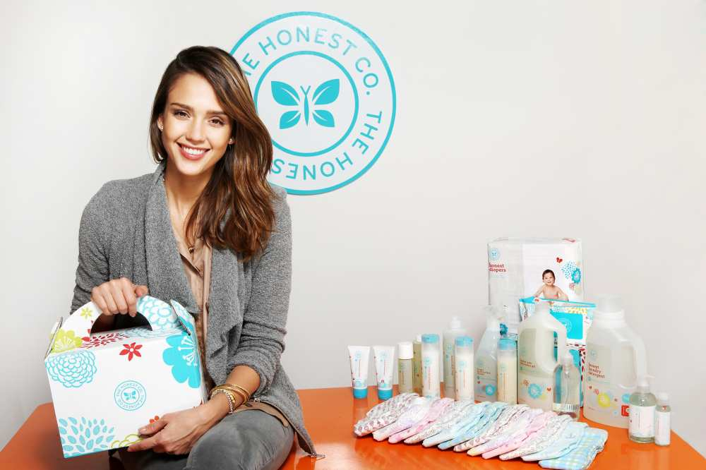 jessica alba the honest co