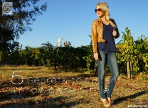 Instant 70's Style by Shopping Your Own Closet!