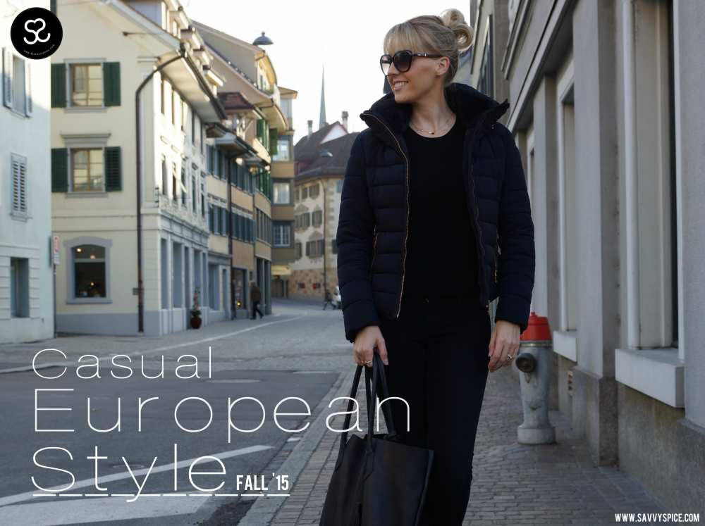 Savvy Spice fashion blog European Style