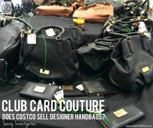 Can You Buy Michael Kors & Burberry Handbags at Costco?