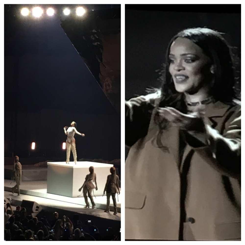 Rihanna concert Dallas Texas style