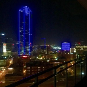 A Very Blue Week in Dallas