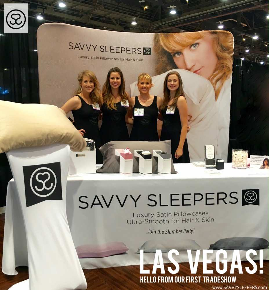 Savvy Sleepers Tradeshow IBS Las Vegas