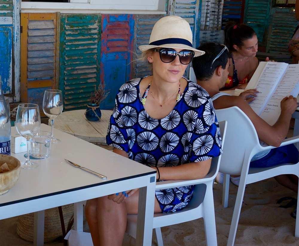 Marimekko print top and shorts1