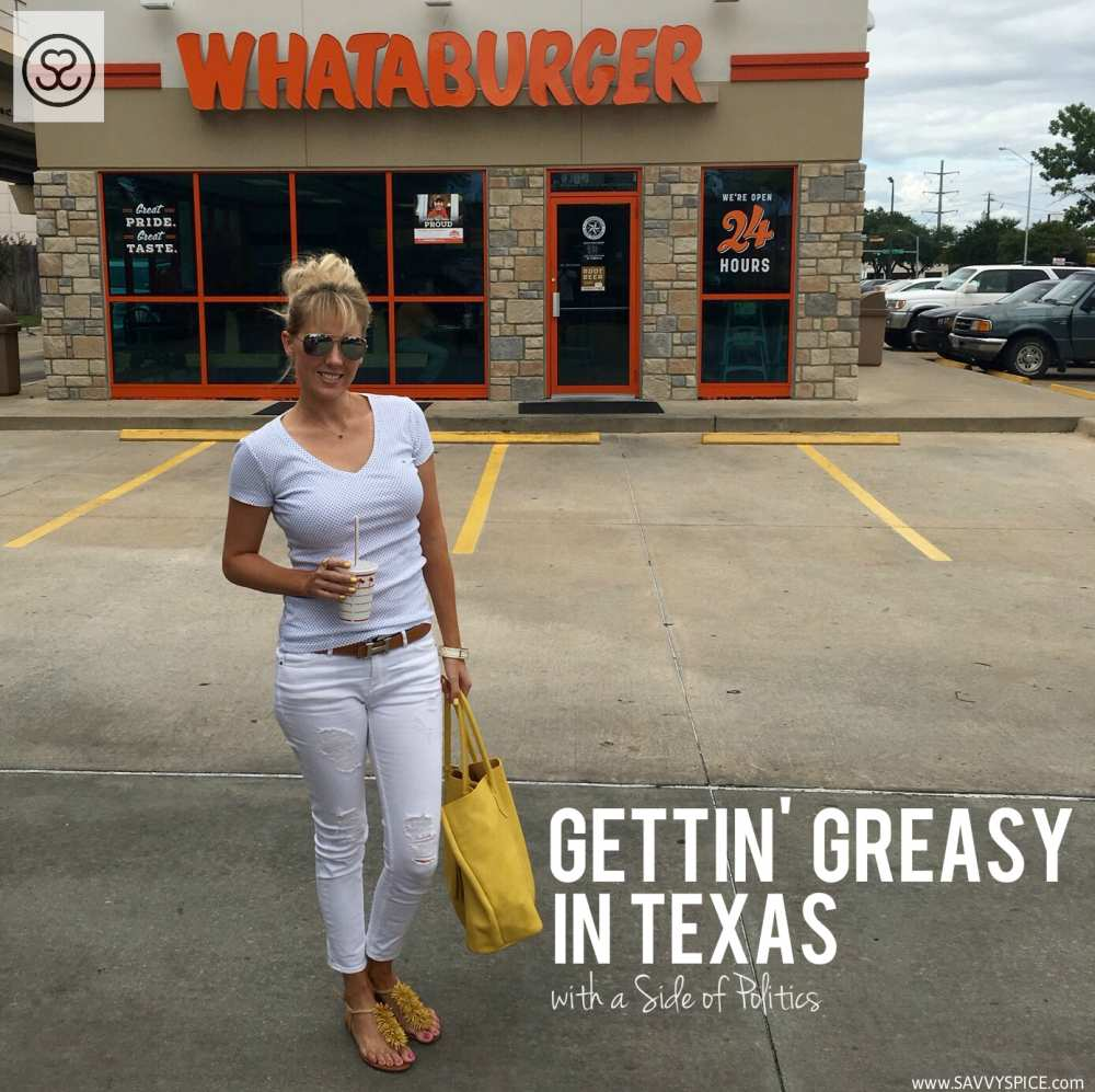 In-N-Out vs  Whataburger! Gettin' Greasy in Dallas - Savvy Spice