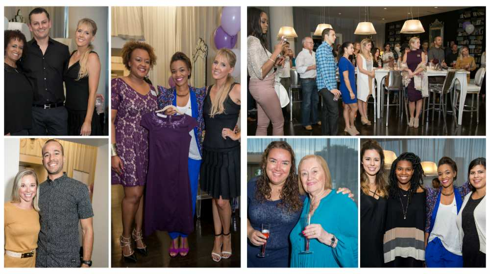 Party pics Dallas Savvy Sleepers Party collage 2
