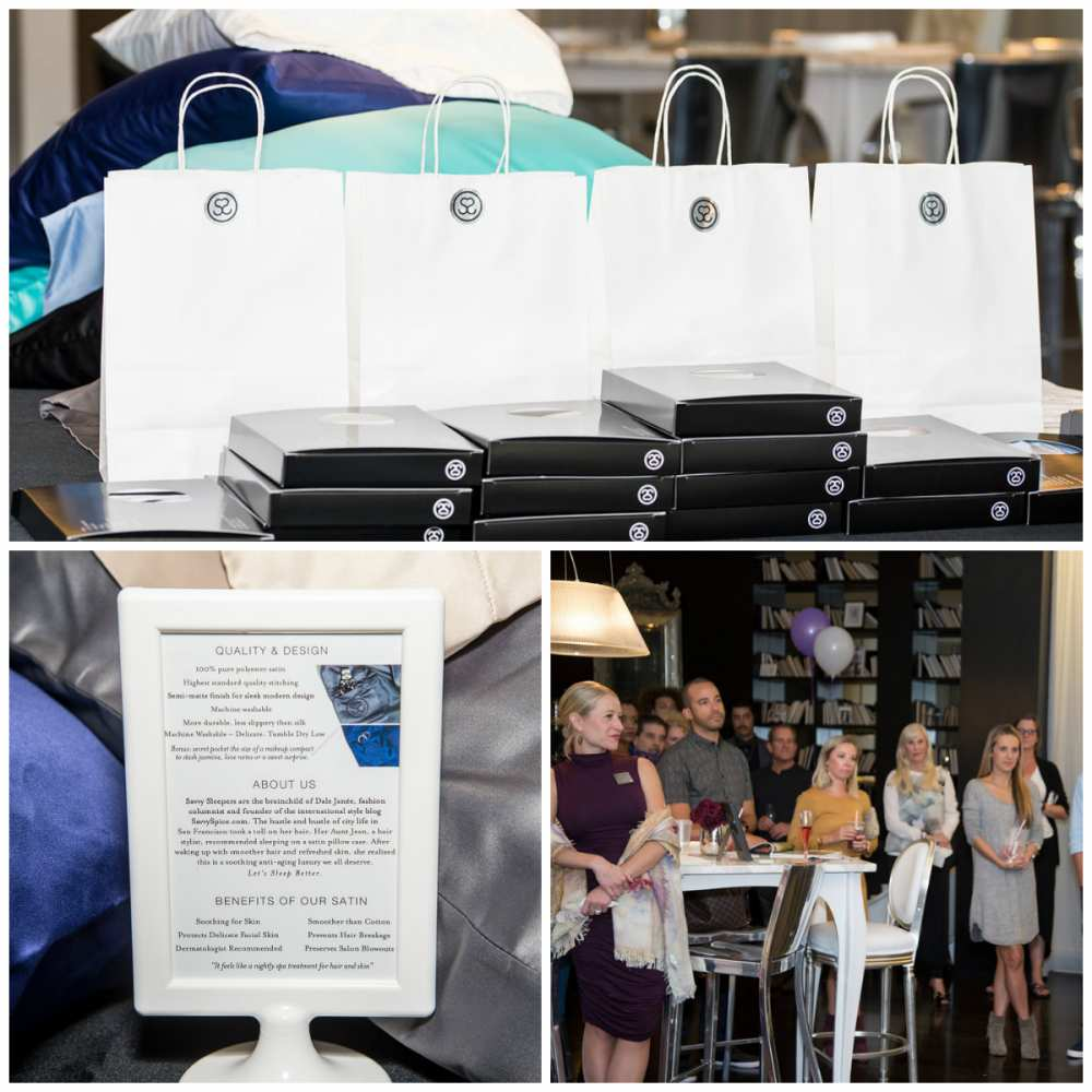 Savvy Sleepers party 9 shopping