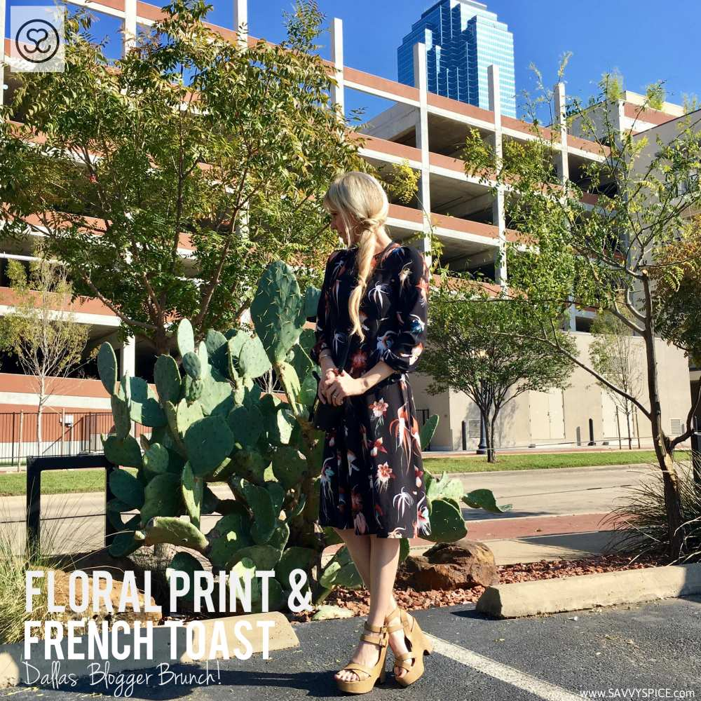 Dallas-blogger-brunch-floral-print-dress