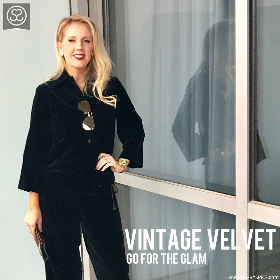 Vintage Velvet jumpsuit cover photo