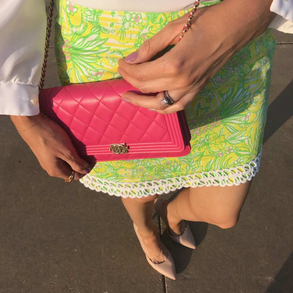 Vintage-Lily-Pulitzer-skirt